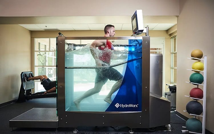 water treadmill