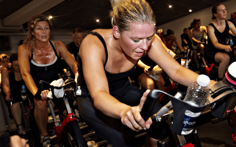 high itensity spinning class